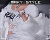Ms~Layerable white furr