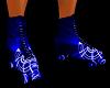 !Blue Rave Skates M