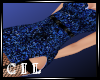 !C! BLUE GLITTER DRESS