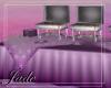 Wedding Purple Buffet