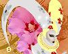 Flower Clown Large Hat