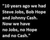 Job, Hope and Cash