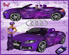 Audi butterfly purple