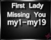 !M! 1st Lady - Missing U