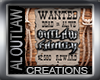 OutLaw Hanging Banner