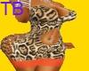 *TB* leopard dress