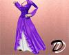 Victorian Dress (purple)