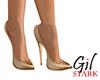 Pale Gold Heels