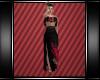 Long Rose Dress
