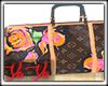 LV Floral Duffle Bag
