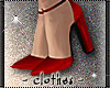clothes - red heels