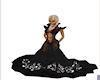 Princess Val  GOWN black