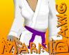 Purple Belt White Gi