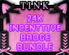 24K Badge Support
