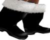 Santa Black Boots
