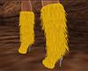 Yellow Boots Fur (F)