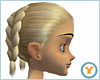 Dbl French Braid: Blonde