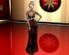 Poinsettia Gown