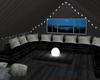Cozy dark attic hideaway