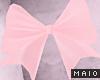 🅜 PINKU: butt bow pnk