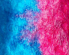 Blue Pink Swirl Nails