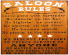 Sallon Rules Poster