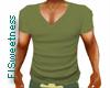 FLS T Shirt - Cammo Gree