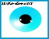 Teal Blue Eyes