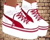 White-Red Shoes