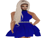 (P)Royal Blue PartyDress