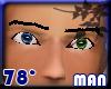 2 eyes blue & green [m]