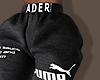 ღ Black Ader Joggers