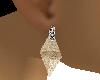 See Thru Womans Earrings