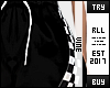 ♔ Blck Racer Sweat RLL