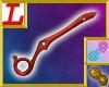 Scissor Sword O Half Red