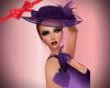 Tricky Purple Gloves