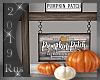 Rus: Fall Pumpkin Sign