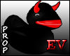 EV Devil Rubber DUCK blk