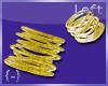 {-} Bangles Left Gold
