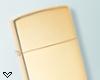 ✔ Gold Zippo Lighter