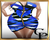 CH-Mozaik Blue  Dress