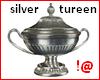 !@ Silver tureen