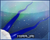 M * Blue Antilope Horn