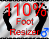 *M* Foot Resizer 110%
