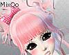 kawaii pink hair kpop