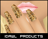 ▴ Leopard Nails