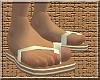 *CA* Brown Flip Flops