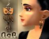 Earrings~Owl