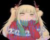 Anime Christmas Cutout 1
