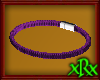 Leather Bracelet Purple